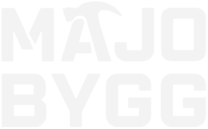 Majo Bygg Logotyp Footer